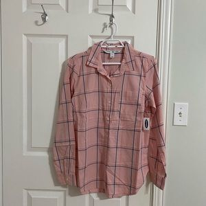 NWT Old Navy The Classic Shirt Flannel